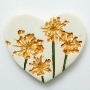 Heart Brooch