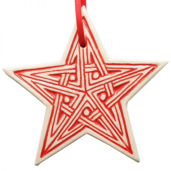 Celtic Star Red