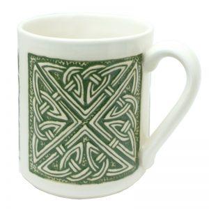 Celtic mug green