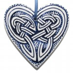 Celtic Hanging Heart