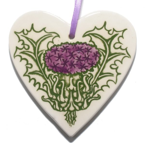 Thistle Hanging Heart