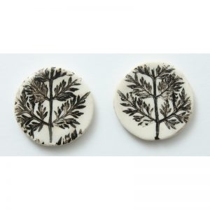 Pressed Leaf Earring