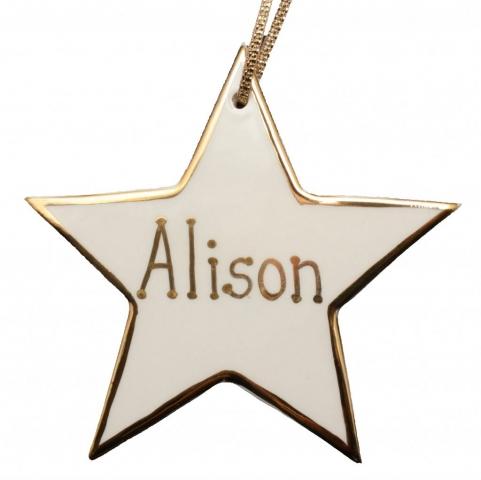 Large Personalised Star