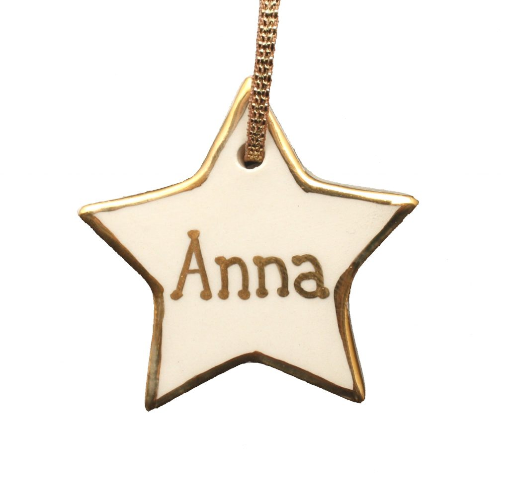 Small Personalised Star