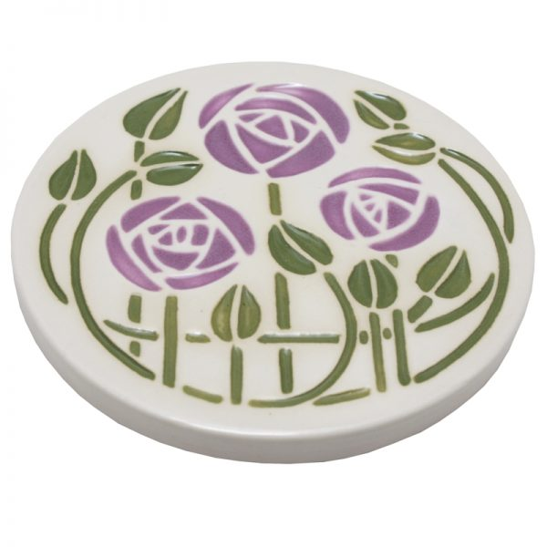 Mackintosh Coaster Lilac