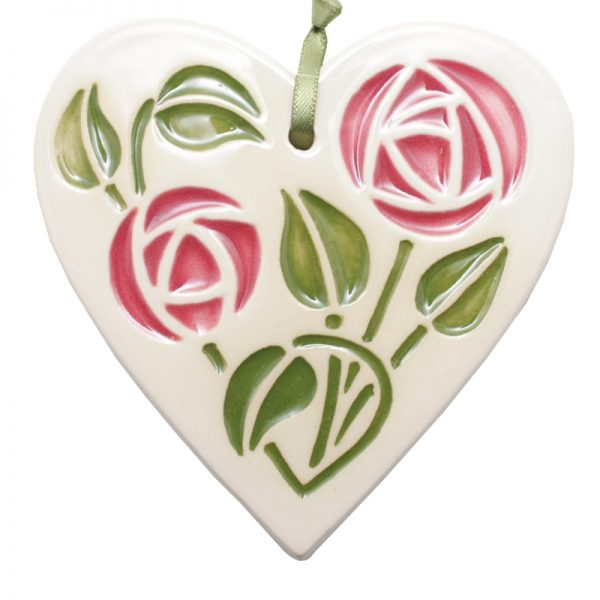 Mackintosh Hanging Heart Pink