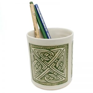 Pencil Holder Celtic Green