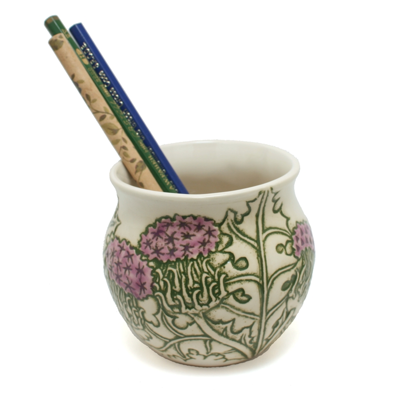 Pencil Holder Thistle