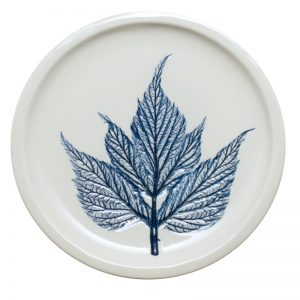 Pressed leaf teabag-rest blue-1