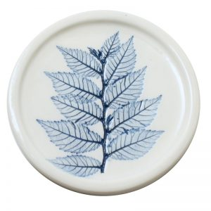 Pressed leaf teabag-rest blue-5
