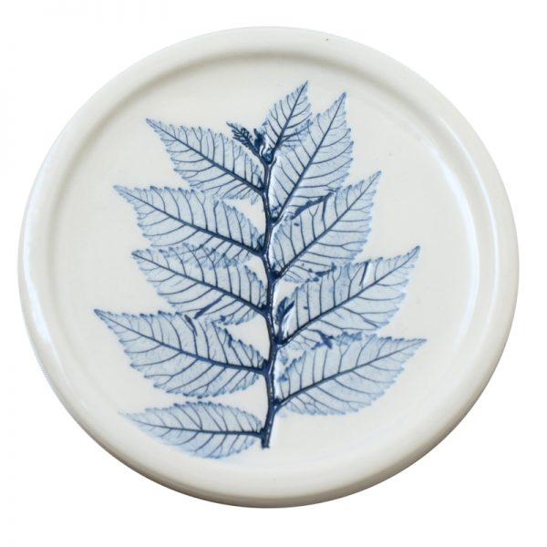 Pressed leaf teabag-rest blue-5
