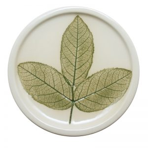 Pressed leaf teabag-rest green-1