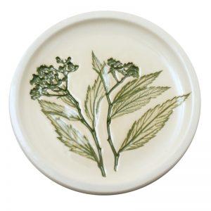 Pressed leaf teabag-rest green