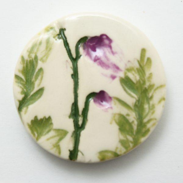 Small Round Brooch