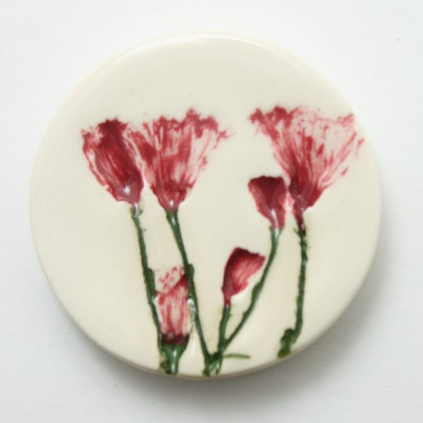 Small Round Brooch