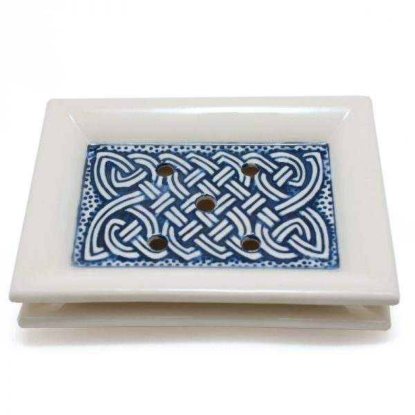 Soap Dish Celtic Blue