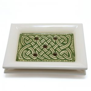 Soap Dish Celtic Green