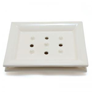 Soap Dish Classic White