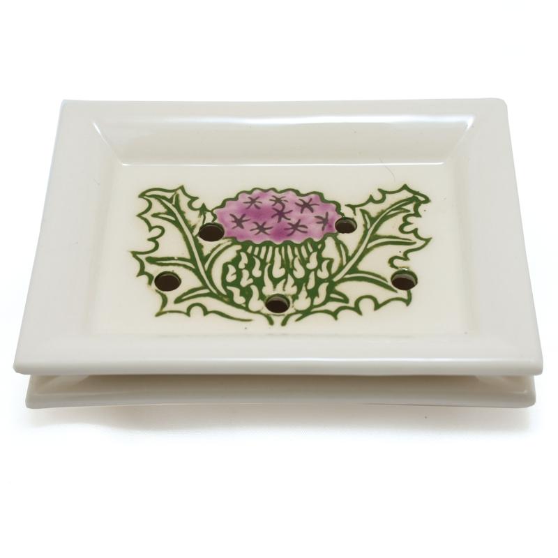Soap Dish Thistle