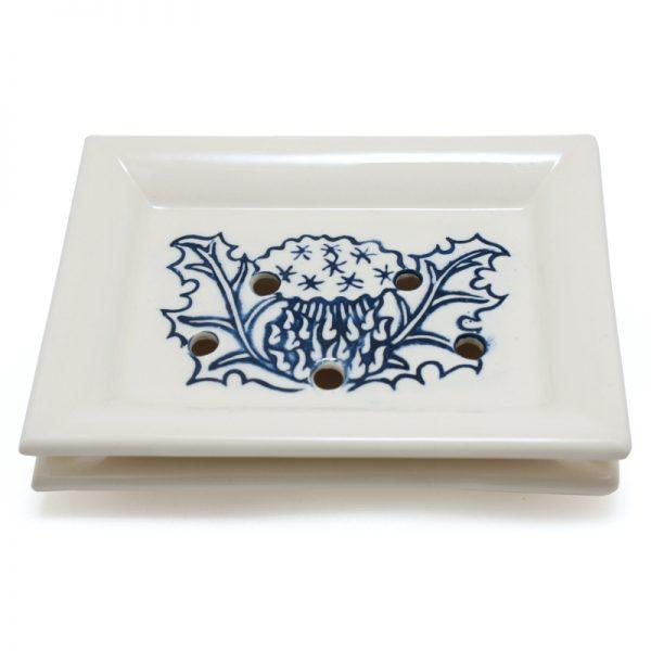 Soap Dish Thistle Blue