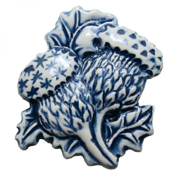 Thistle Fridge Magent Blue
