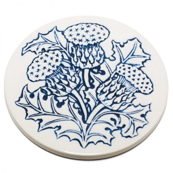 Thistle Teapotstand blue