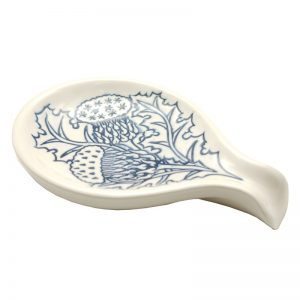 Thistle spoon blue