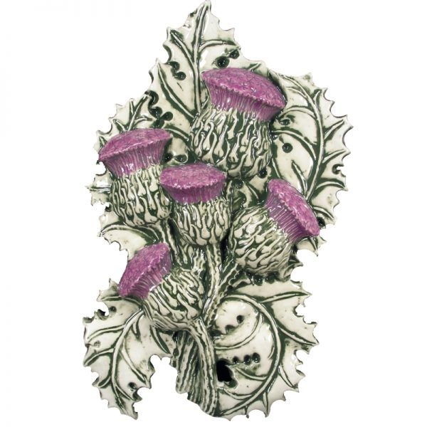 Thistle Wall Plaque Large
