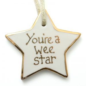 Your a wee star