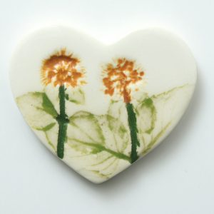brooch heart