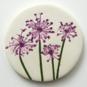 Large Round Brooch #12