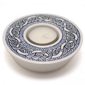Celtic Candle-cup - blue