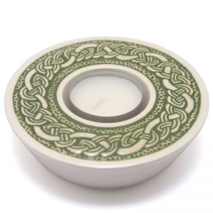 Celtic Candle-cup - green
