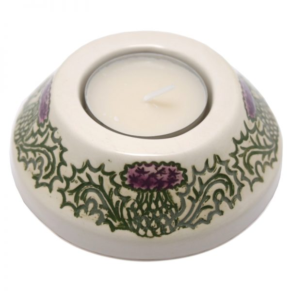 Thistle candle-cup small