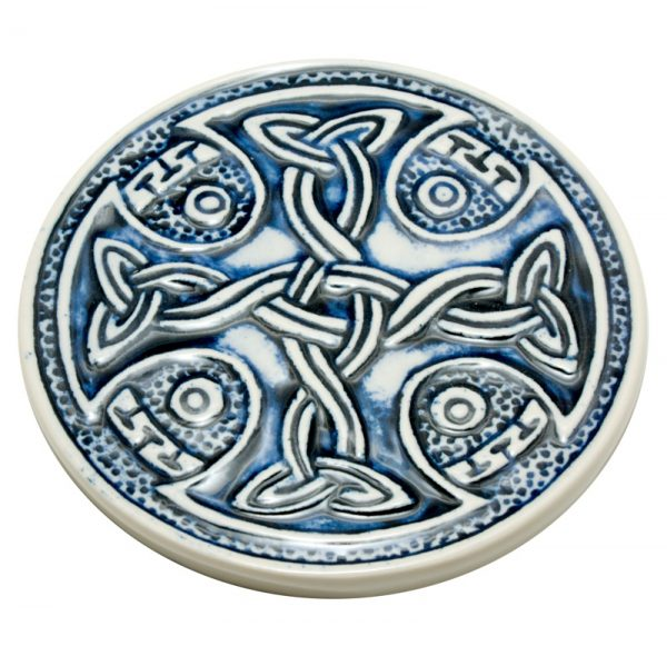 Celtic Coaster- blue