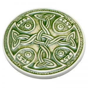Celtic Coaster- green
