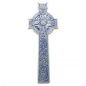 Celtic Cross - blue