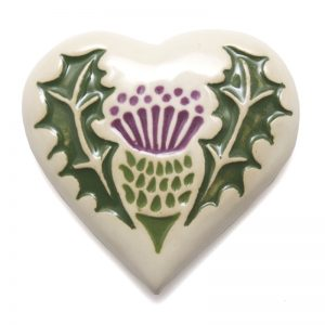 New Thistle Fridge magnet - heart