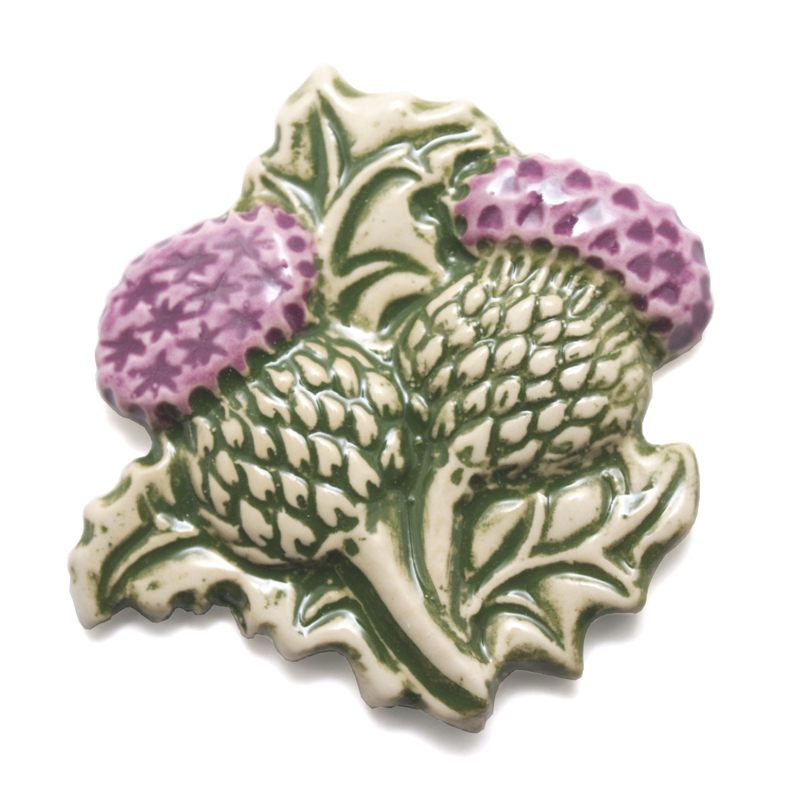 Thistle Fridge magnet