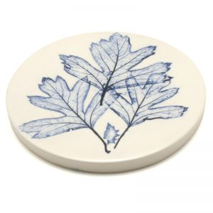 Pressed Leaf coaster