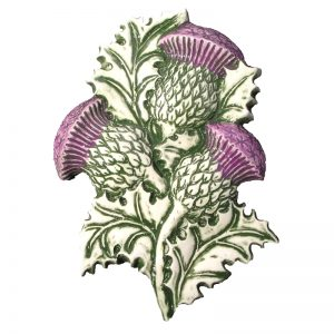 Thistle Wall Plaque