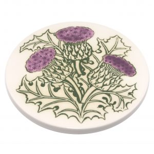 A thistle teapot-stand