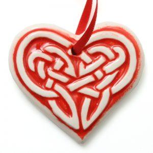 Xmas small Celtic heart
