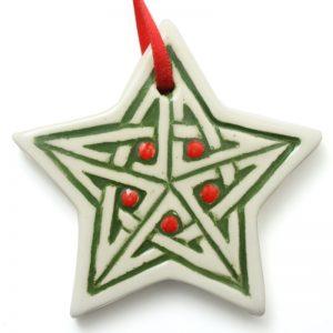 Xmas small Celtic star