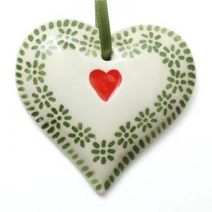 Xmas small daisy heart